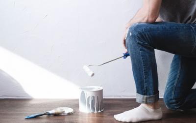 Dicas para pintar a parede de casa sozinho