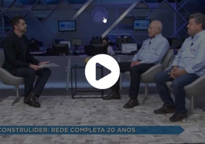 Rede Construlíder Completa 20 Anos!